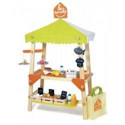 House of Toys - Piata de jucarie din lemn cu accesorii