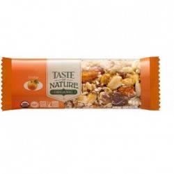 Baton bio cu portocale vegan, fara gluten x 40g Taste of Nature