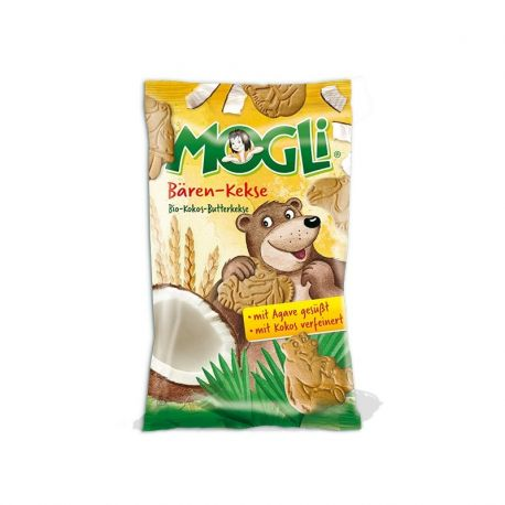 Mini Biscuiti Urs x 50g Mogli