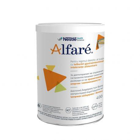 Alfare Formula speciala de lapte praf x 400g Nestle
