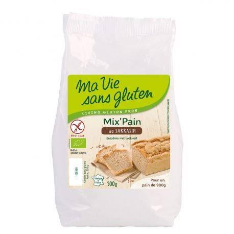 Amestec pentru paine cu hrisca fara gluten x 500g Ma vie sans gluten