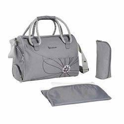 Geanta pentru scutece Bowling Bag Grey - Badabulle