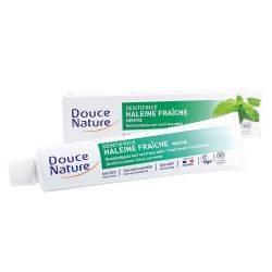 Pasta de dinti cu menta anti halena x 75ml Douce Nature