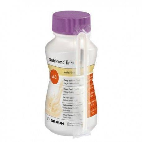 Nutricomp Drink Plus vanilie x 200ml BBraun