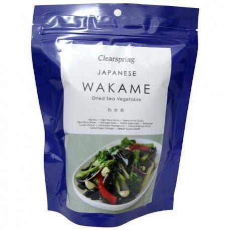 Alge marine uscate Wakame x 50g Clearspring
