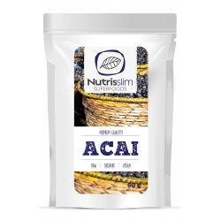 Pudra organica din fructe de Acai x 60g Nutrisslim