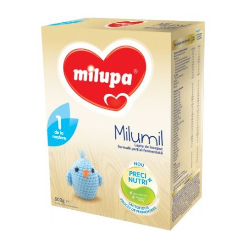 Lapte praf Milumil 1 x 600g Milupa
