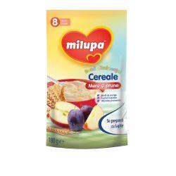 Cereale fara lapte Buna Dimineata cu mere si prune x 180g Milupa