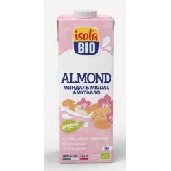 Lapte vegetal bio de migdale fara gluten, fara lactoza x 1000ml Isola Bio