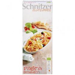 Spaghete fara gluten din faina de porumb si orez ECO x 250g Schnitzer