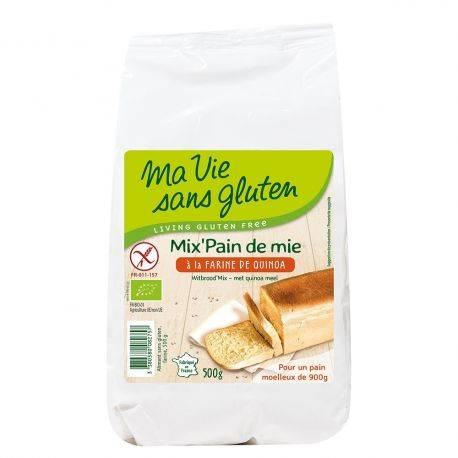 Amestec pentru paine cu quinoa fara gluten x 500g Ma vie sans gluten