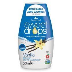 Sweet drops cu vanilie x 50ml SweetLeaf