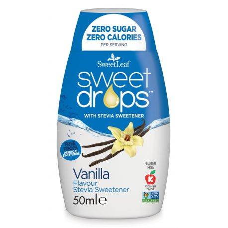 Sweet drop cu vanilie 50ml SweetLeaf