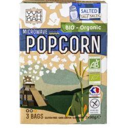 Popcorn sarat pentru microunde x 3*90g YumKah