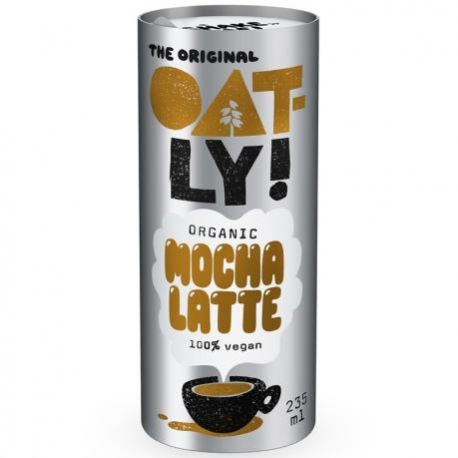 Bautura de ovaz cu cafea si cacao MOCHA LATTE ECO x 235ml Oatly
