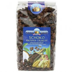 Musli crocant cu ciocolata ECO x 375g Bioking