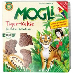Biscuiti Tiger BIO x 125g Mogli