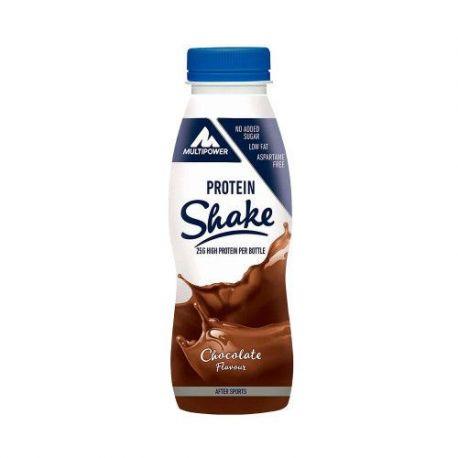 Shake proteic ciocolata x 330ml Multipower