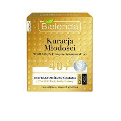 Crema hidratanta antirid cu extract de melc 40+ zi/noapte x 50ml Bielenda