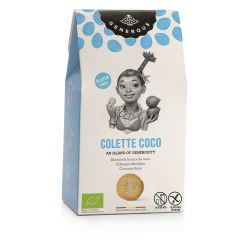 Biscuiti eco fara gluten Colette Coco cu cocos x 100g Generous