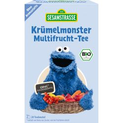 Ceai ECO Cookie Monster de fructe x 40g Sesame Street