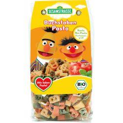 Paste organice din grau dur litere colorate x 250g Sesame Street