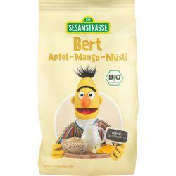 Cereale musli ECO cu mere si mango Bert x 200g Sesame Street