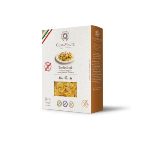Paste proaspete Tortelloni cu branza Parmigiano Reggiano si otet balsamic, fara gluten x 250g Gustamente