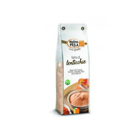 Faina de linte fara gluten x 500g Molino Peila