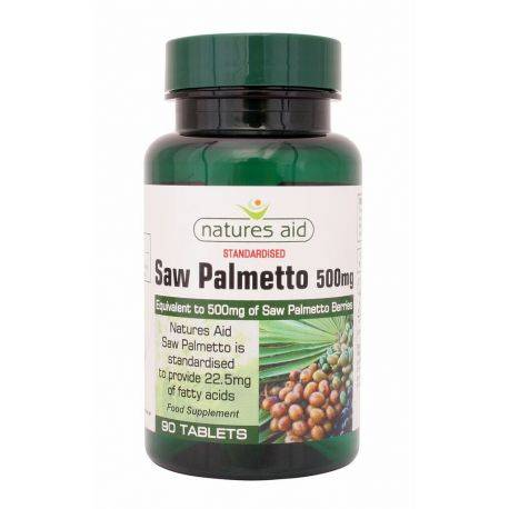 Saw Palmetto standardizat x 90 comprimate Natures Aid
