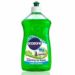 Solutie cu lime pentru spalat vase x 500ml Ecozone