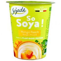 Specialitate din soia cu mango si piersica ECO x 125g Sojade