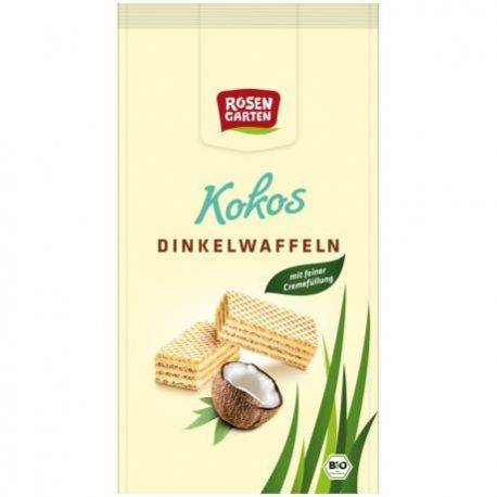 Napolitate din spelta cu crema de cocos ECO x 100g Rosen Garten