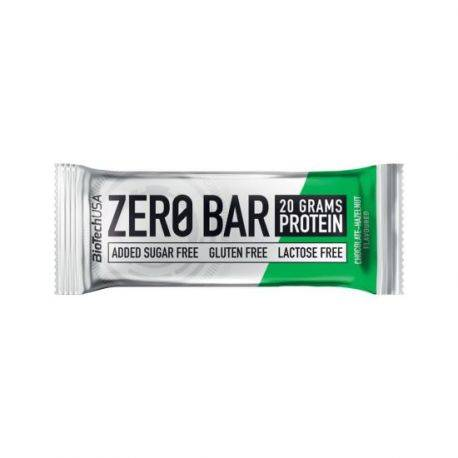 Baton proteic alune fara gluten si fara zahar Zero Bar x 50g Biotech