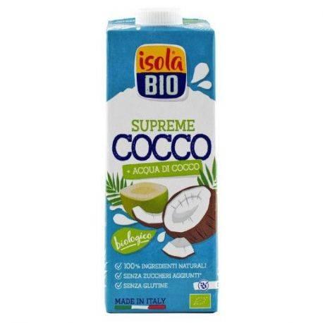 Bautura bio din nuca de cocos fara gluten Supreme x 1000ml Isola Bio
