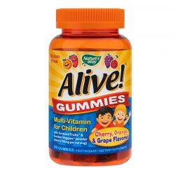 Alive! Gummies Multi-Vitamin for Children x 90 jeleuri Natures Way