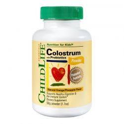 Colostrum plus Probiotics x 50g pudra (gust de portocale/ananas) ChildLife Essentials