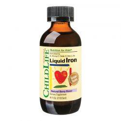 Liquid Iron 10mg x 118.50ml (gust de fructe) ChildLife Essentials