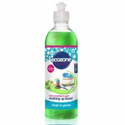 Solutie concentrata pentru spalat vase cu castravete si mar x 500ml Ecozone