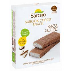 Batoane bio cu cocos si ciocolata fara gluten Sarchio