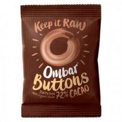 Drajeuri raw dark cu probiotice 72% cacao Eco x 25g Ombar