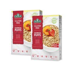 Oferta 1+1 Cereale Quinoa Puffs fara gluten x 300g Orgran