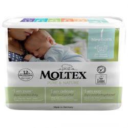 Scutece ECO No.1 NEWBORN 22 bucati 2-4kg MOLTEX