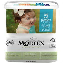 Scutece ECO No.5 JUNIOR 25 bucati 11–25kg MOLTEX