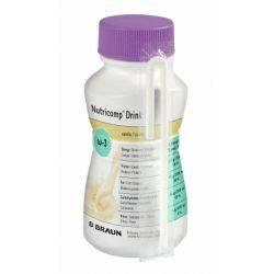 Nutricomp Drink D Vanilie (4x200ml) BBraun