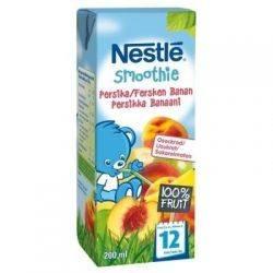 Nestle Smoothie suc piersica, mar si banana x 200ml