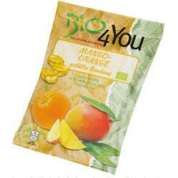Bomboane BIO cu mango si portocale fara gluten vegan x 75g Bio 4You