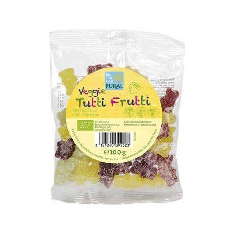 Jeleuri gumate BIO fara gluten Tutti Frutti x 100g Pural