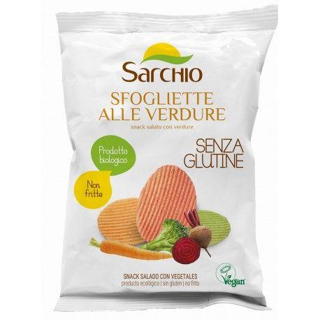 Snack sarat cu legume fara gluten x 55g Sarchio