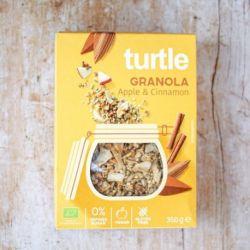 Granola cu mar si scortisoara fara gluten x 350g Turtle